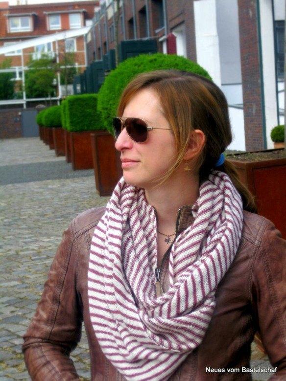 Arnhem-Loop: Feiner Schal aus Lacewolle