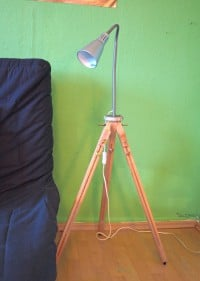 DIY upcycling Lampe