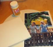 DIY Foto auf Leinwand