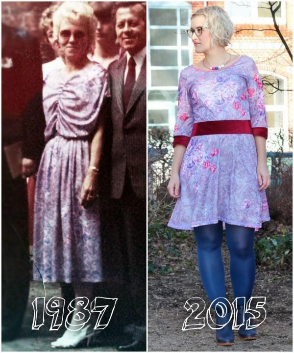 Neues Kleid aus altem Kleid