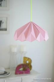Plissee-Lampenschirm