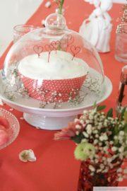 Kuchen-Topper zum Valentinstag