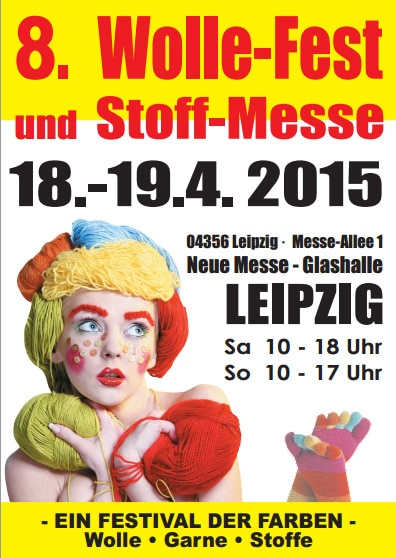 8. Leipziger Wolle-Fest & Stoffmesse