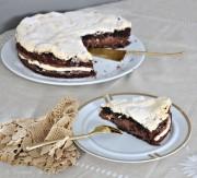 Schoko-Baiser-Kuchen