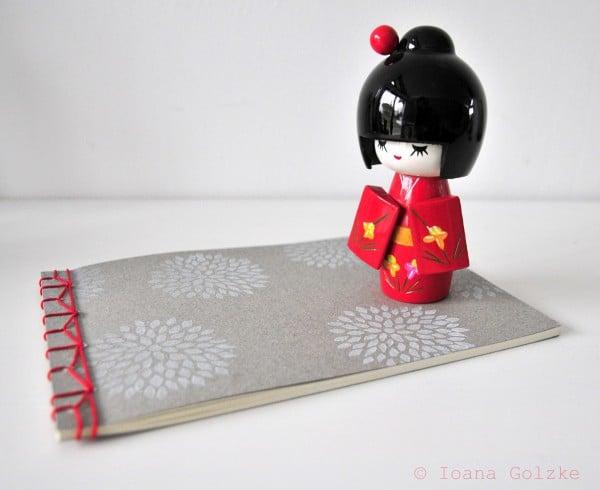 Notizbuch mit japanischer Buchbindung