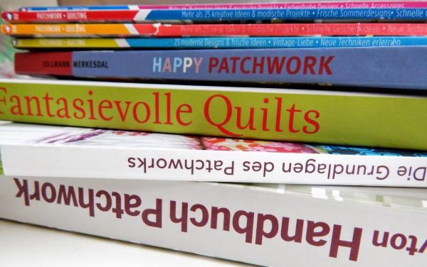 Patchwork- Wegweiser #11- ein kleiner Blick in die Patchworkbücherei