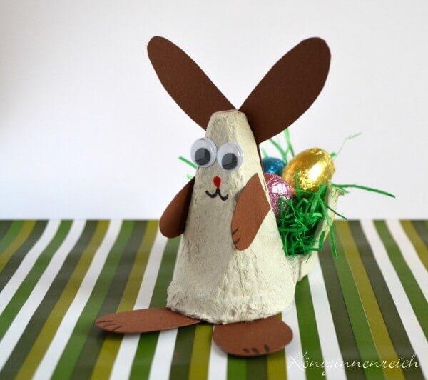 Mini Osterkorbchen Aus Einem Eierkarton Handmade Kultur