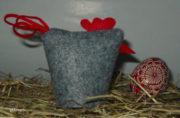 Eierwärmer Huhn