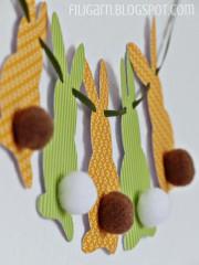 DIY: Hasenbande mit Bommeln