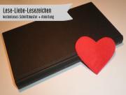 Lese-Liebe-Lesezeichen
