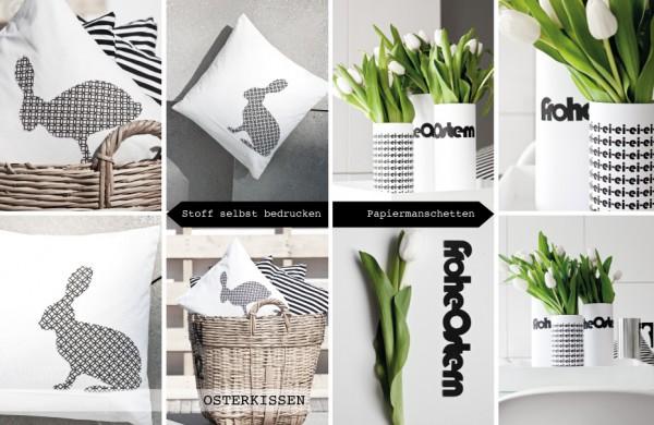 Schwarz liebt Weiß: Raumideen.
