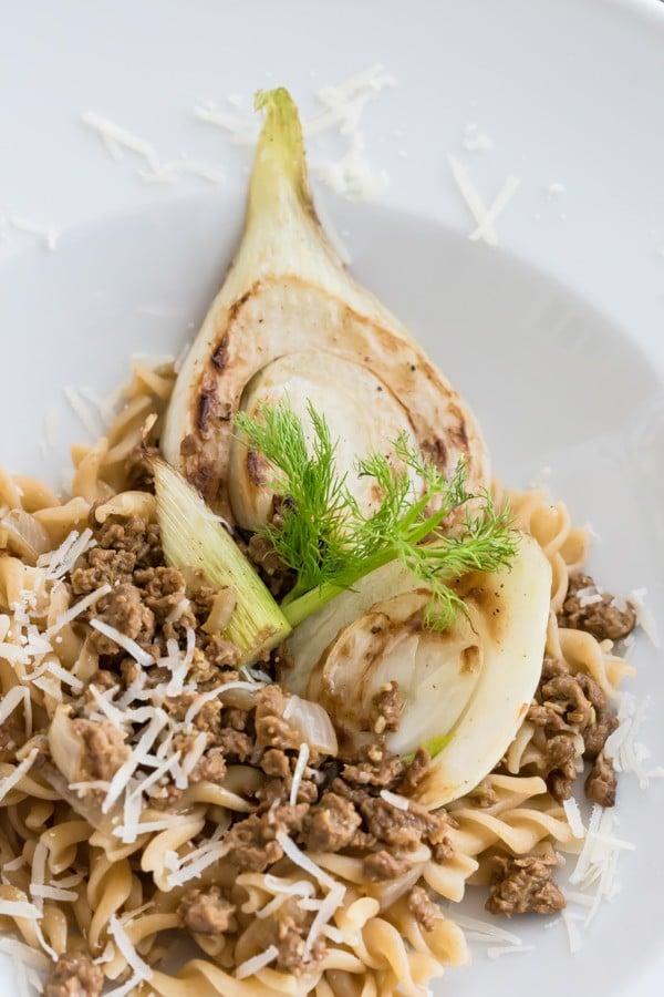 Aromatische Fenchel-Pasta mit Tatar! So ... YUMMY!