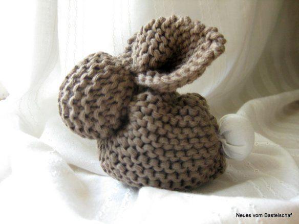 Aus Strickquadrat Wird Hasi Handmade Kultur