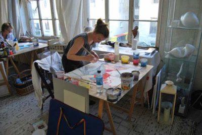 Kunstkurs wöchentlich Atelierloft HH 2021