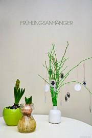 DIY Frühlinganhängerdeko