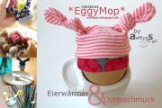 Eiermützchen 'EggyMop' - Osterschmuck und Eierwärmer