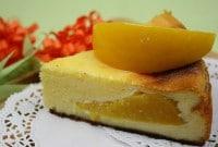 Einfacher Käsekuchen ohne Boden