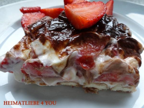 Erdbeer-Tiramisu - verführerisch gut!