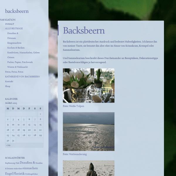 backsbeern