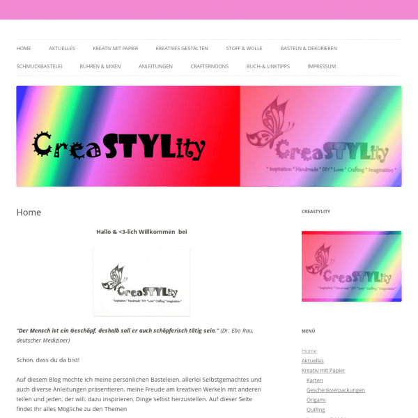 CreaSTYLity | *Inspiration*Handmade*DIY*Love*Crafting*Imagination*