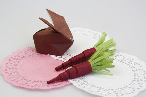 Tischdeko Basteln karotte als tischdeko basteln handmade kultur