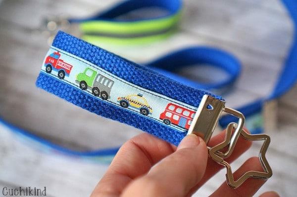 Kindergürtel und Schlüsselanhänger-DIY