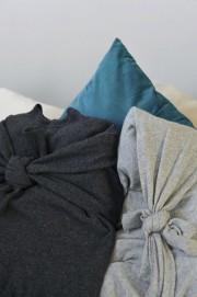 Kissenbezüge aus alten Pullovern