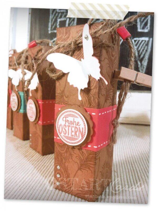 Kleine Geschenkbox für Ostern und andere Gelegenheiten