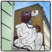 Leinwanddruck I Love Berlin