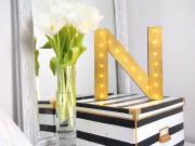 Leuchtbuchstabe - Light up your letter