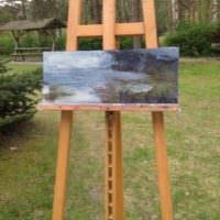 Malkurs 2017 April, Kunstkurs am Plauer See