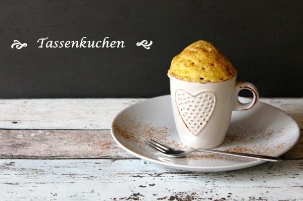 Mug Cakes - Kuchen in der Tasse