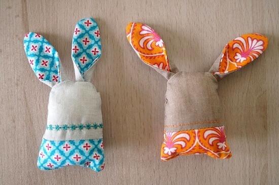Niedliche Häschen zu Ostern nähen