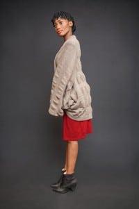 One-Size-Jacke von Größe 38 bis 46