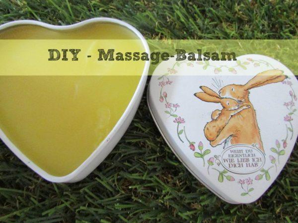 Oster-DIY: Massage-Balsam