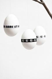 Banderolen für Ostereier