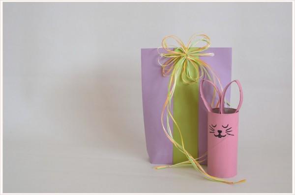 Papiertüte für Ostergeschenke