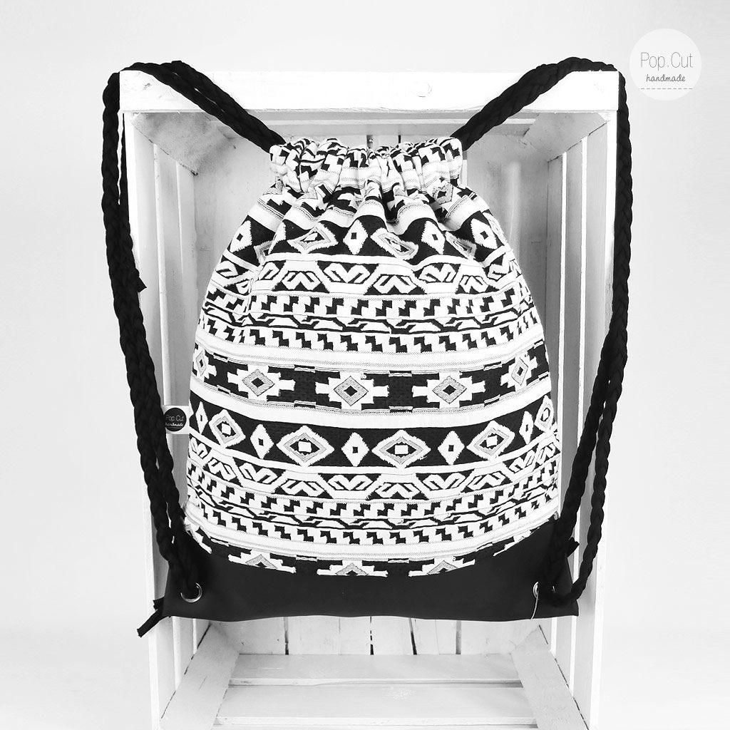 stylischer rucksack aus der handmade kultur handmade kultur. Black Bedroom Furniture Sets. Home Design Ideas