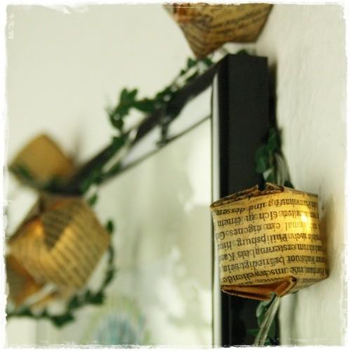 Vintage-Lichterkette ... (nicht nur) für die Leseecke