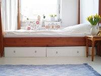 Von der Kommode zur Bettschublade