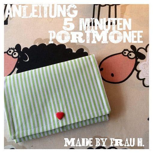5-Minuten-Portmonee
