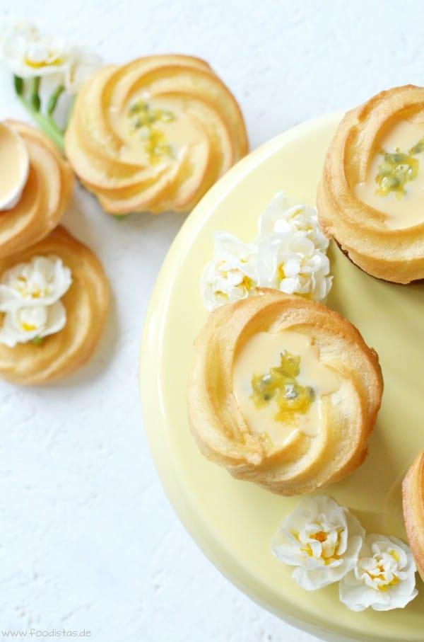 Saint Honoré Eierlikör Cupcakes von den [Foodistas]