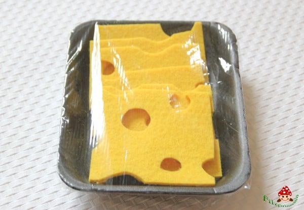 Käse für den Kaufmannsladen