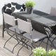 Alte Gartenmöbel mit Lehnenhussen und passenden Sitzpolstern aufpeppen