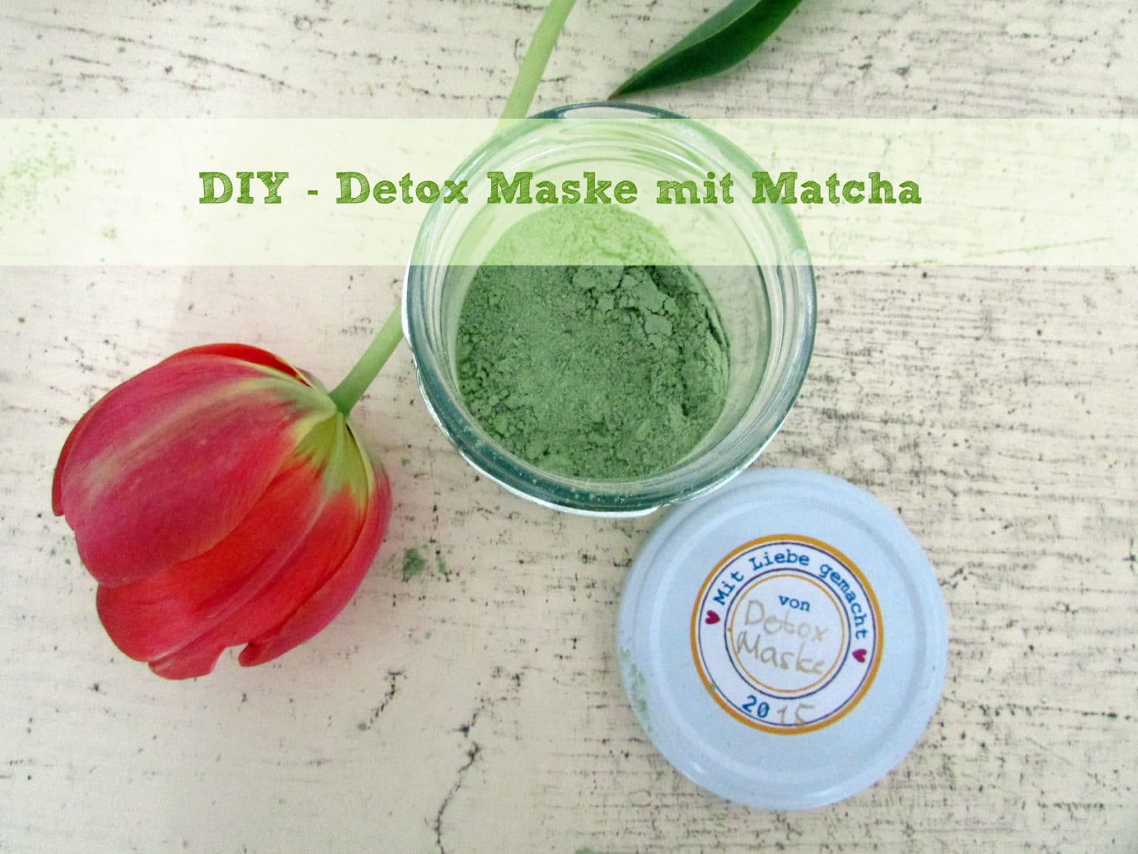 detox maske mit matcha handmade kultur. Black Bedroom Furniture Sets. Home Design Ideas