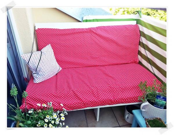 DIY Chilloutplätzchen für den Balkon