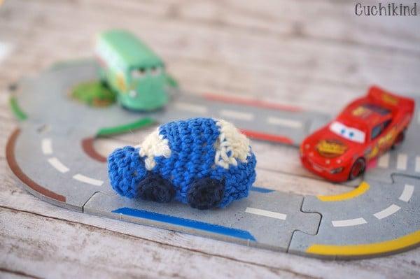 {DIY Häkeln} Miniauto