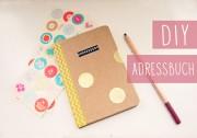 DIY Hardcover Adressbuch