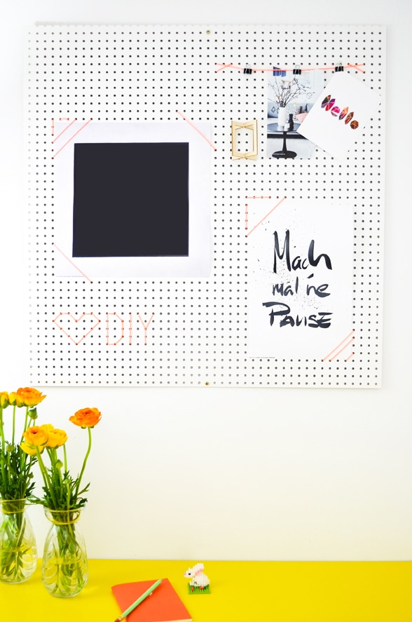 DIY Moodboard für das Home Office