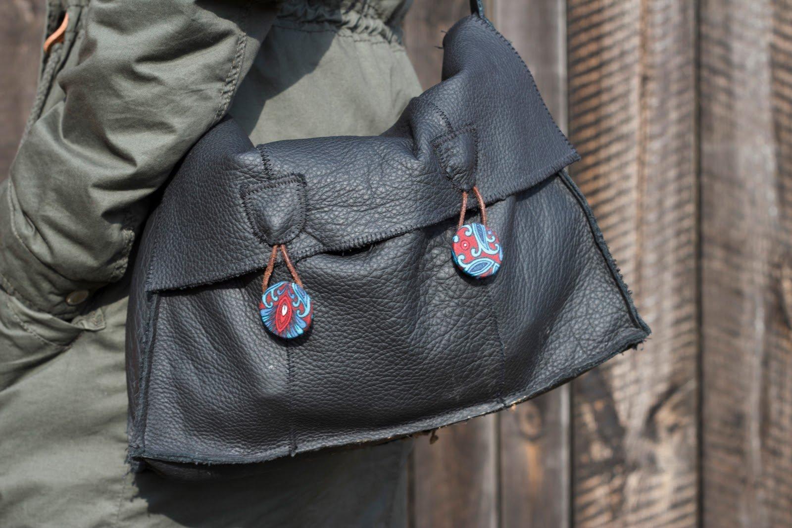 [DIY] Tasche aus Lederresten selber nähen - HANDMADE Kultur